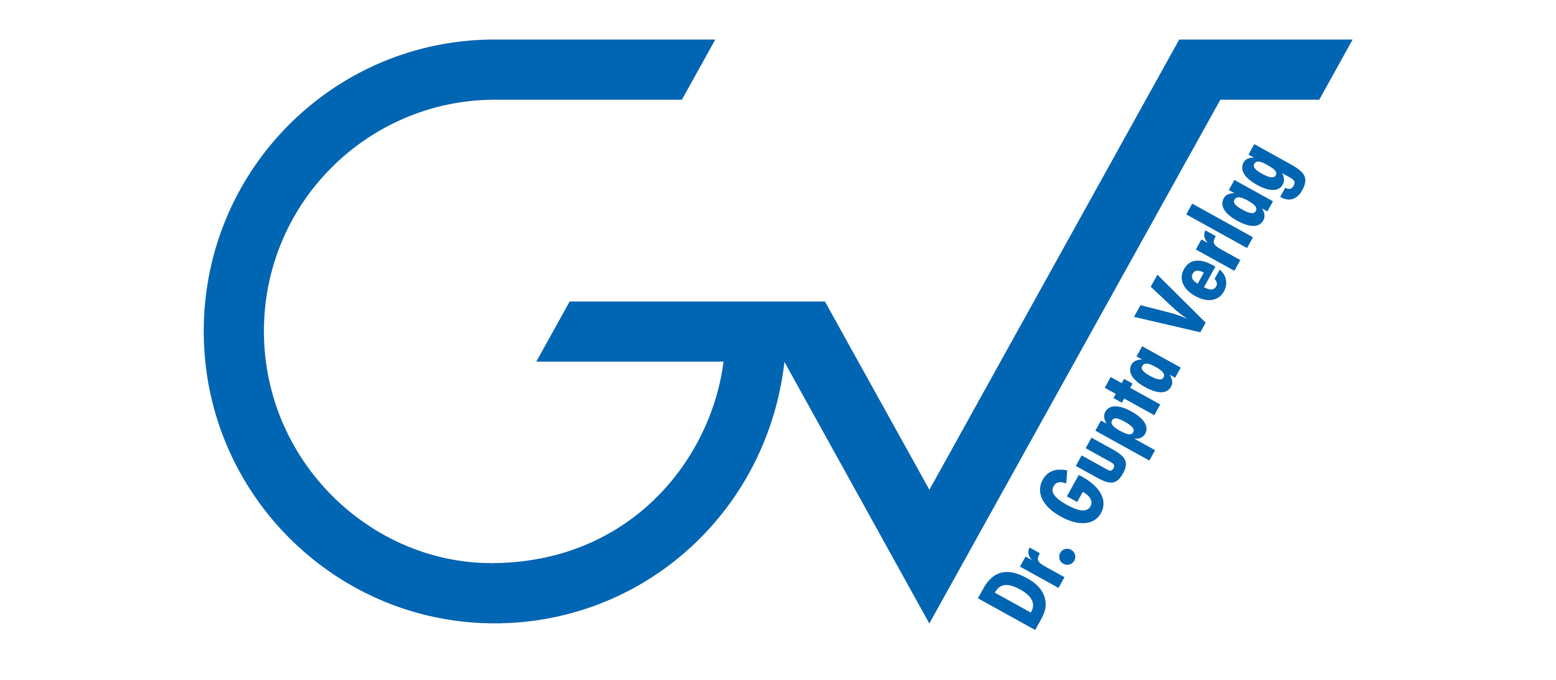 Gupta Verlag Logo AI dunkelblau
